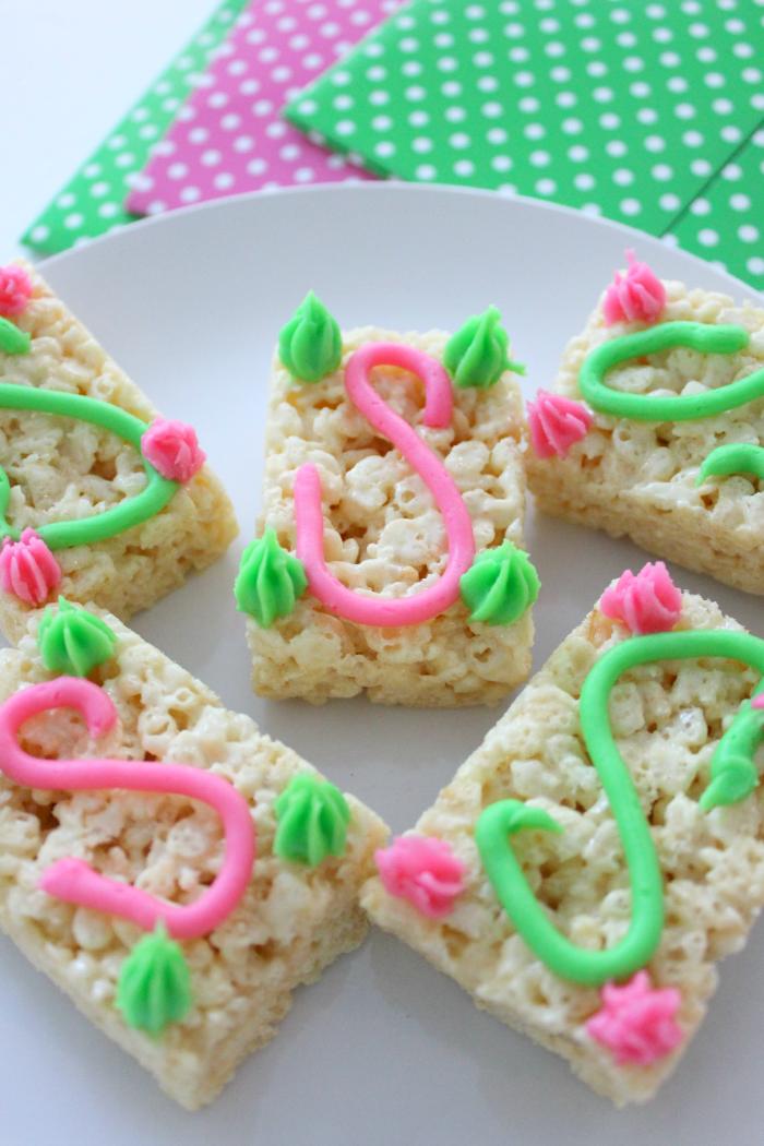 Rice Krispie Treats, Sweet Treats, Monogram