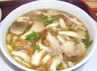 Cara membuat sup jamur putih