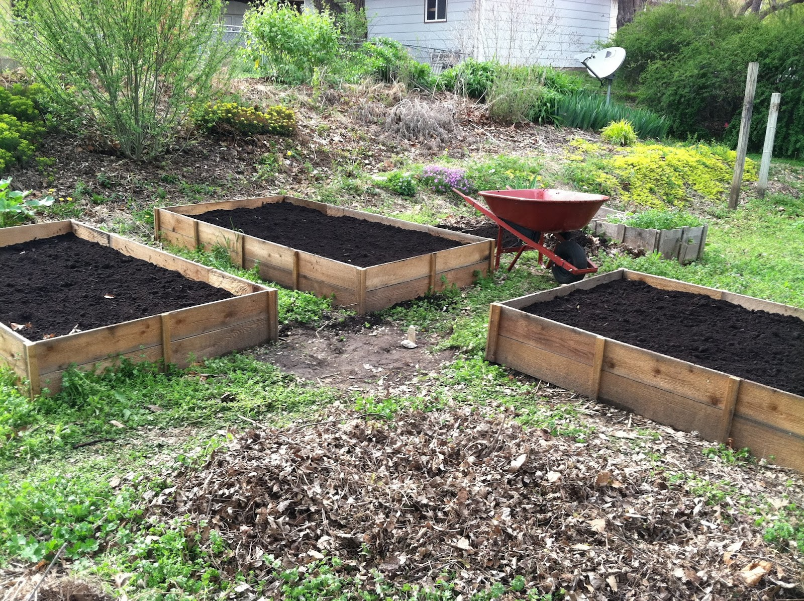 German Jello Salad Cedar Raised Beds I 39 M Finally Posting About Those Uber Cheap Ones I Made