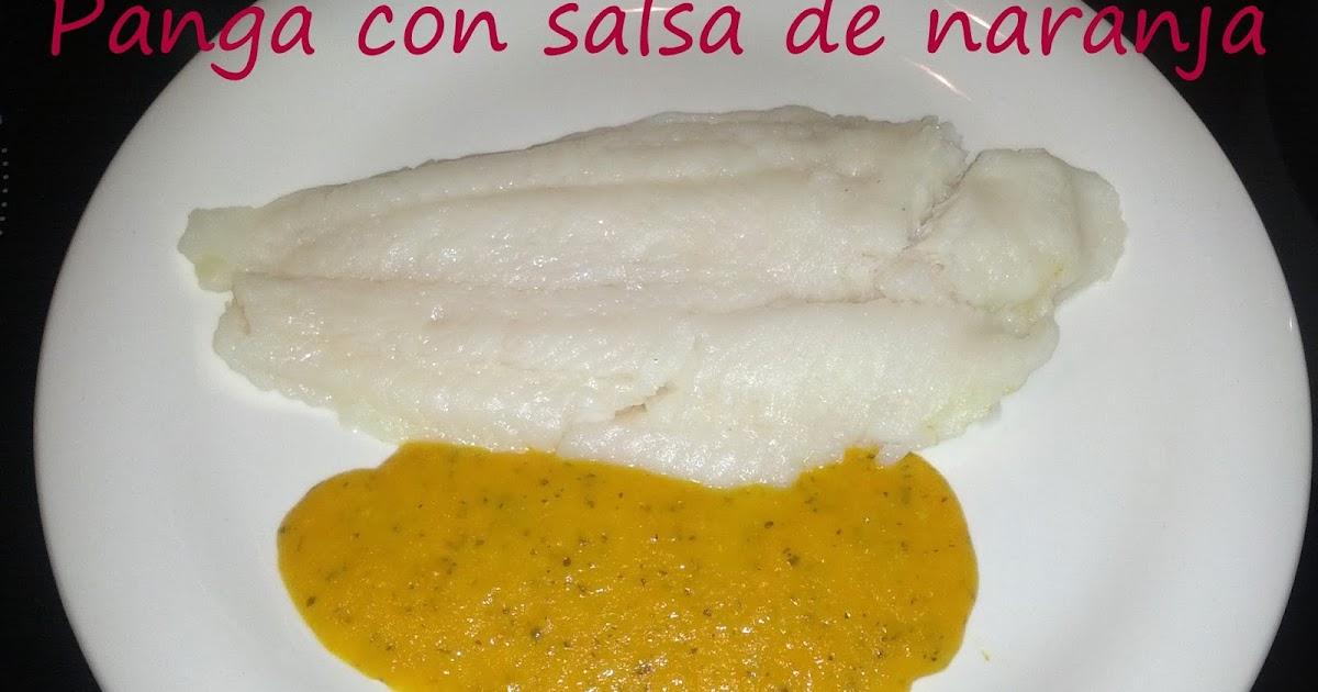 Cocinar con mycook panga con salsa de naranja for Cocinar con 40 pesos