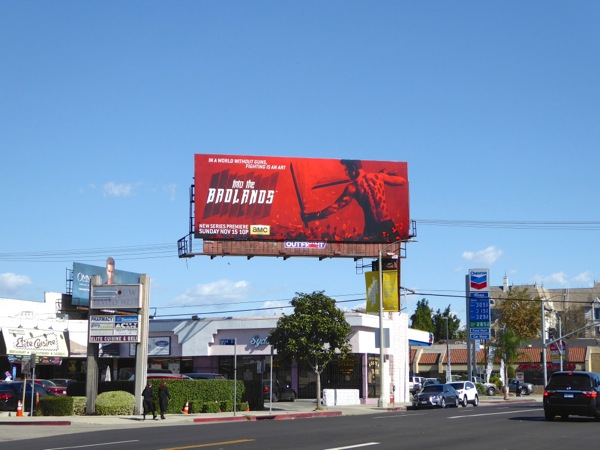 Into the Badlands series billboard
