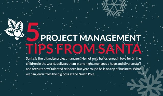 Image: 5 Project Management Tips from Santa