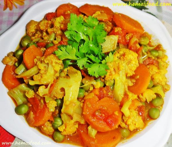 Healthy Mix Veg Curry