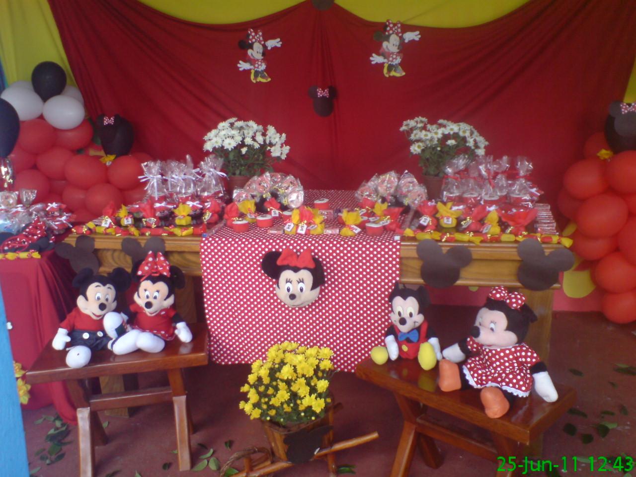 Katy Festas Tema Minnie
