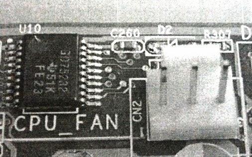Socket CPU fan