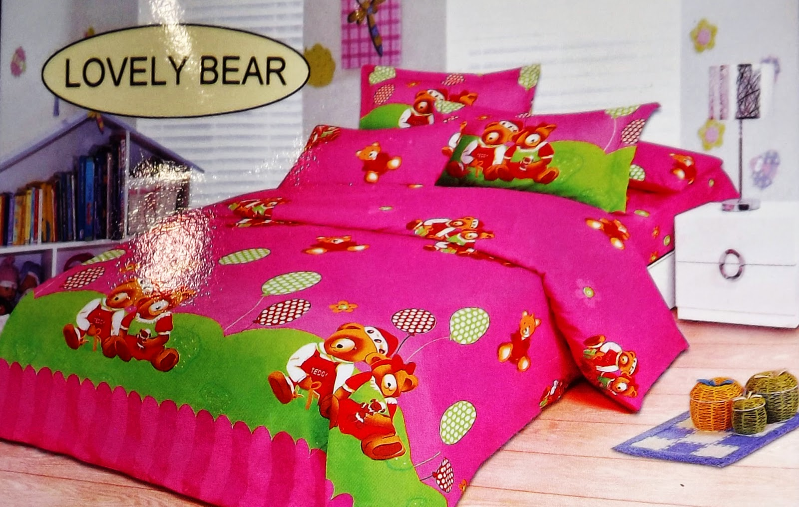 Sprei Bonita Lovely Bear