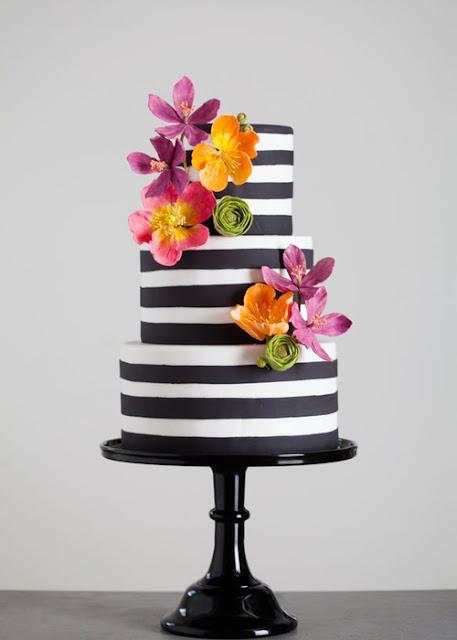 Kate Spade Inspired Wedding Cake Ideas