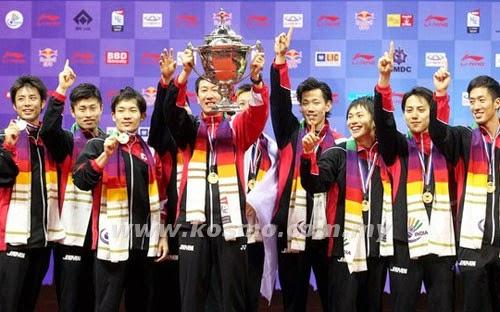 Piala Thomas: Jepun Kuasa Baru Badminton
