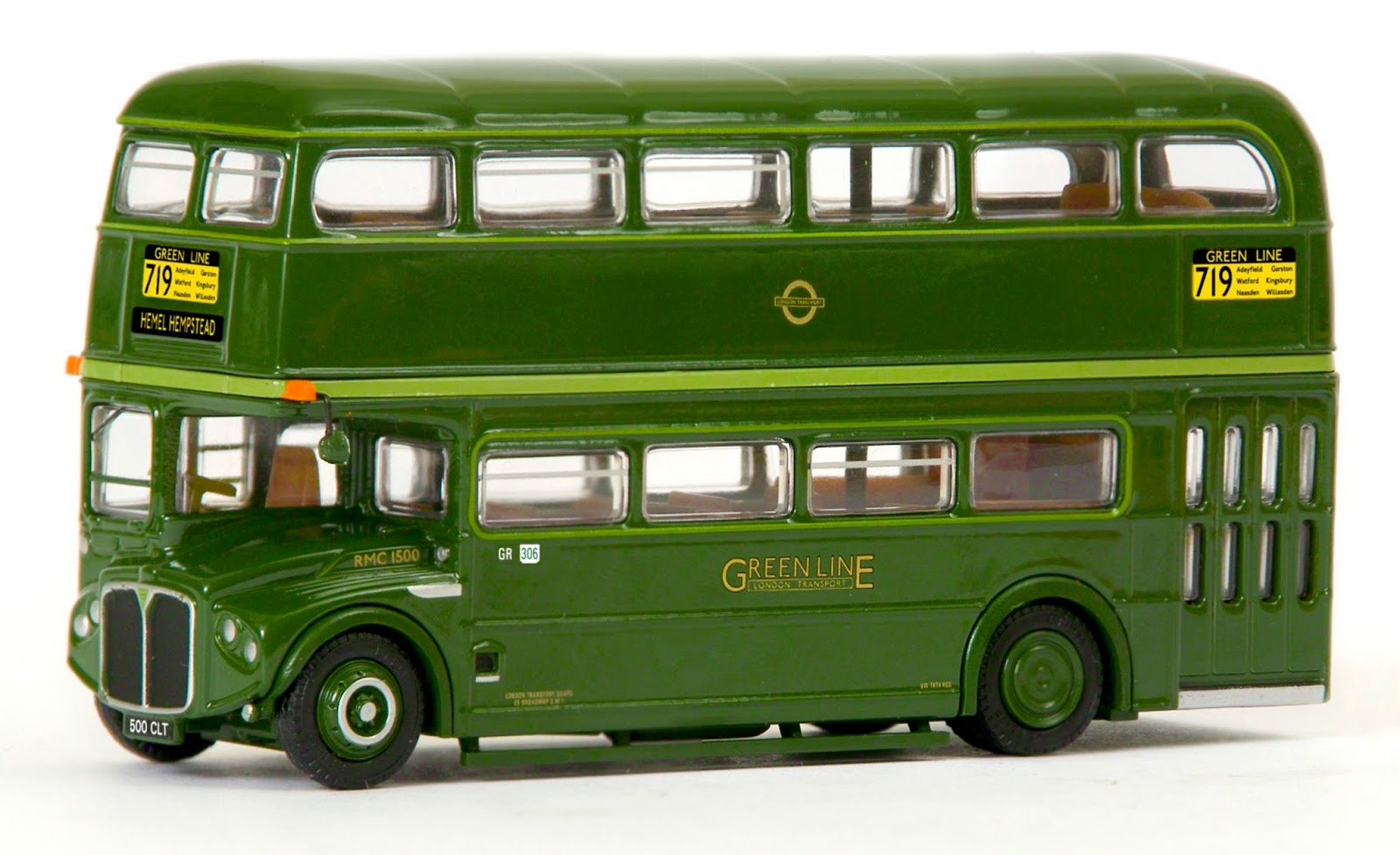 EXCLUSIVE FIRST EDITIONS 31708 RMC ROUTEMASTER GREEN LINE