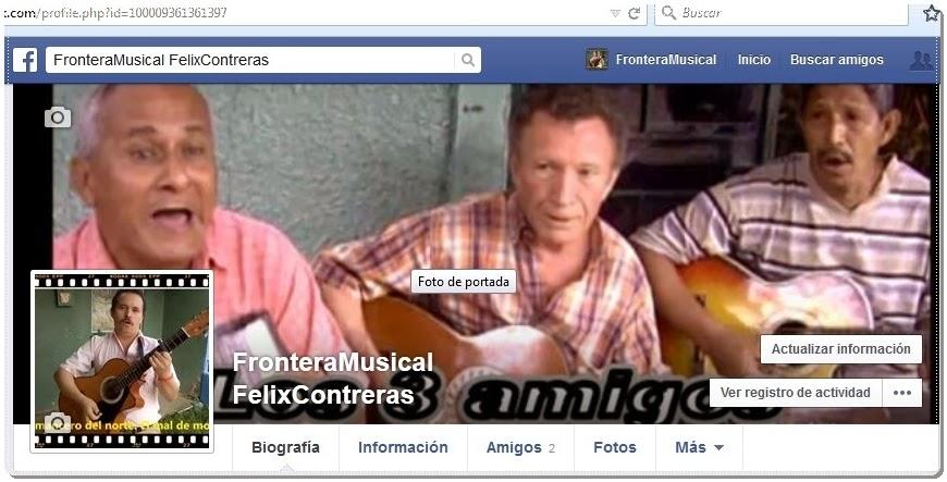 - Homepage de FronteranNoticias FelixContreras en Facebook