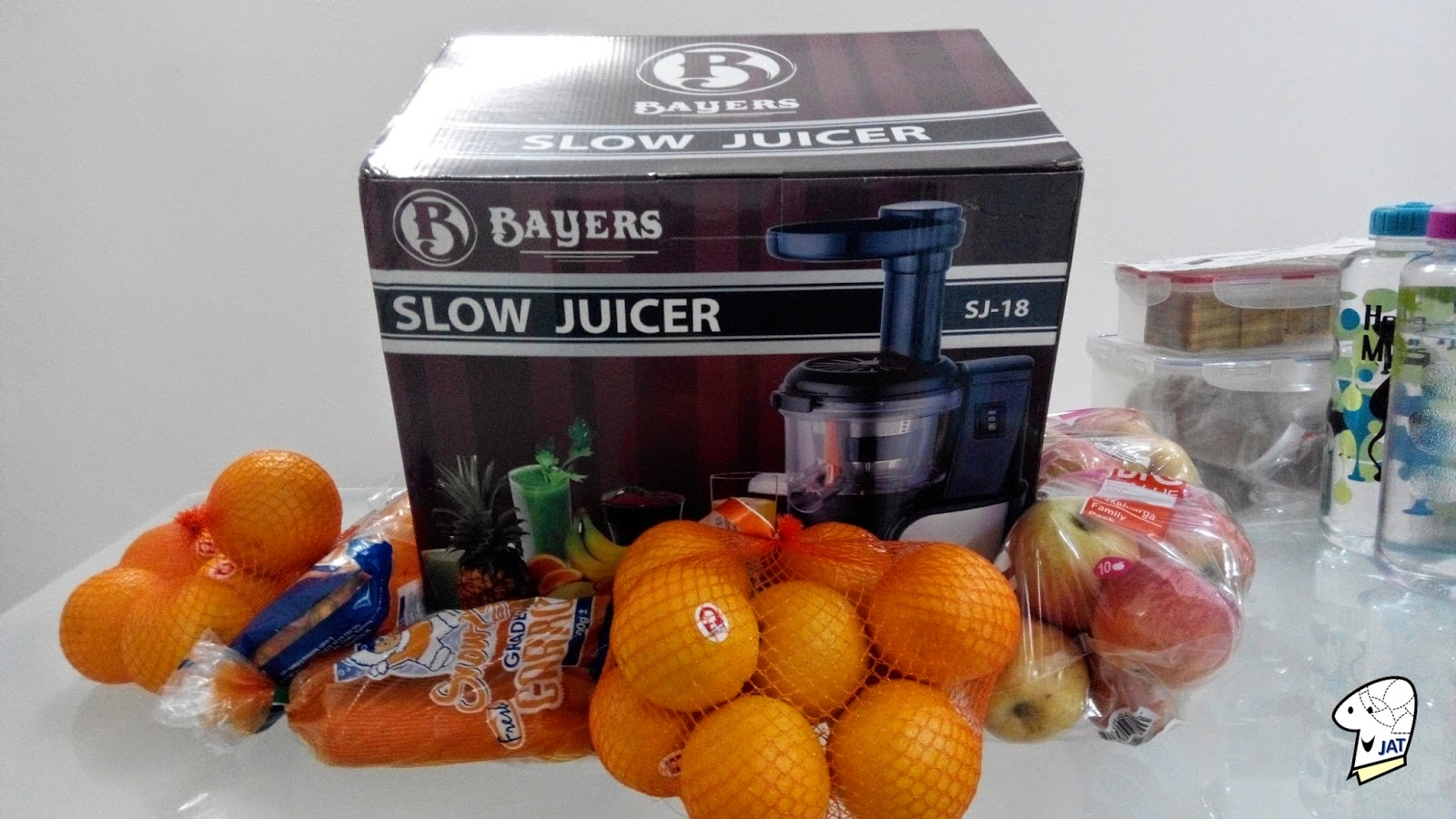 Bayers Dual Stage Slow Juicer, Box