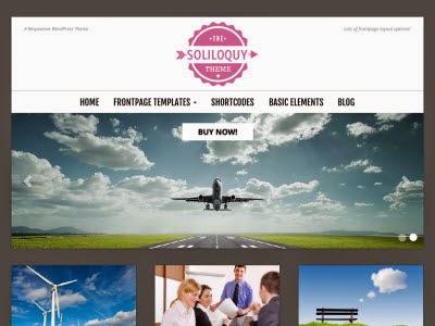 Soliloquy WordPress Theme