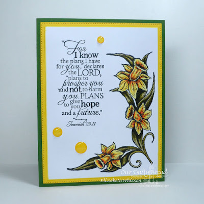 Our Daily Bread Designs, Daffodil Corner, Good Man, Flourished Star Pattern Dies, Designed by Elizabeth Whisson
