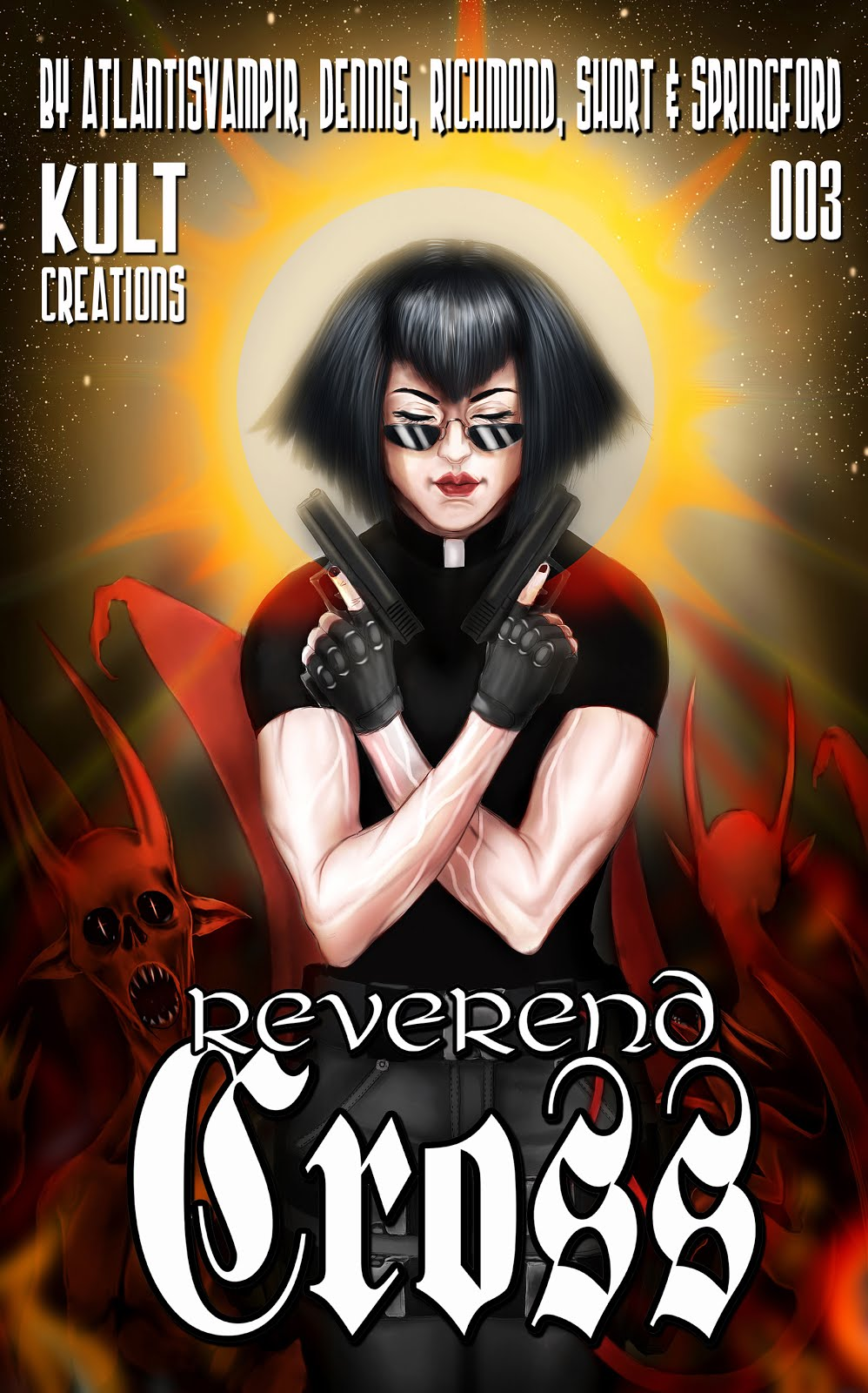 Link to buy REVEREND CROSS 003 - kindle