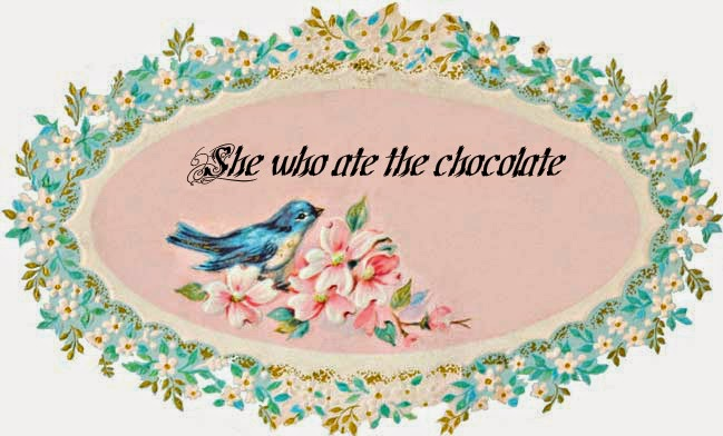 She who ate the chocolate