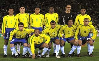 Football retro world cup 2002 br sil brazil brasil - Bresil coupe du monde 2002 ...