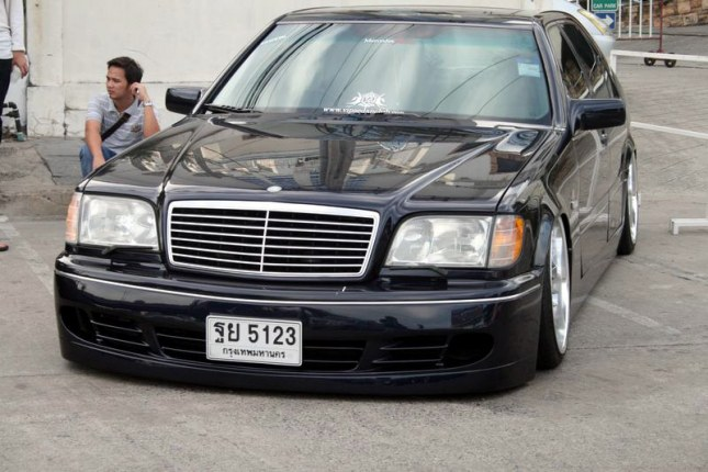 Mercedes benz w140 vip style benztuning for Mercedes benz w140