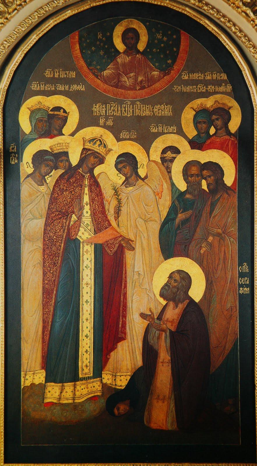 Reverend Seraphim of Sarov - the patron of what