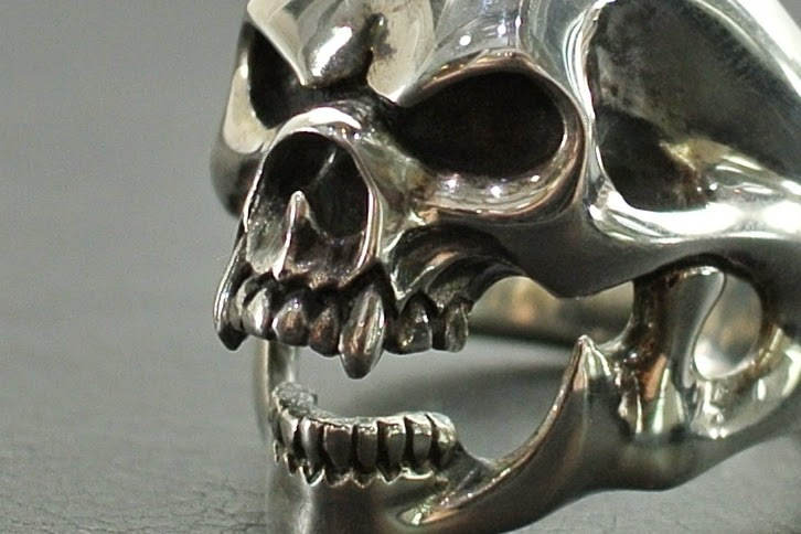 Strange Freak Designs - Belial Skull Ring