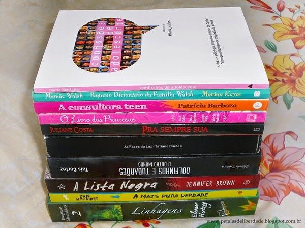 Caixa de Correio, livros, março, blog