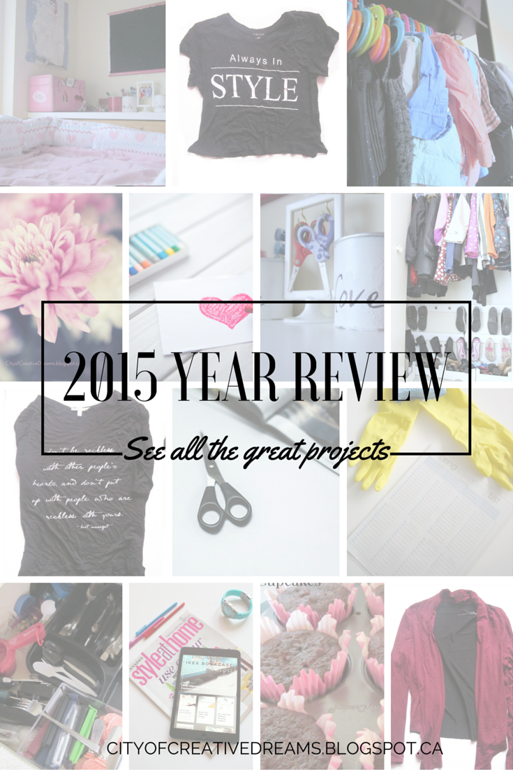 2015 year review - city of creative dreams