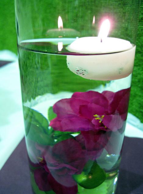 Centros de Mesa con Flores