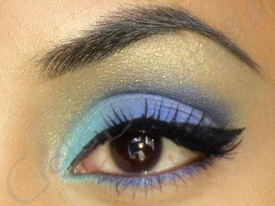 Bows And Pearls: Asian bridal eye make up