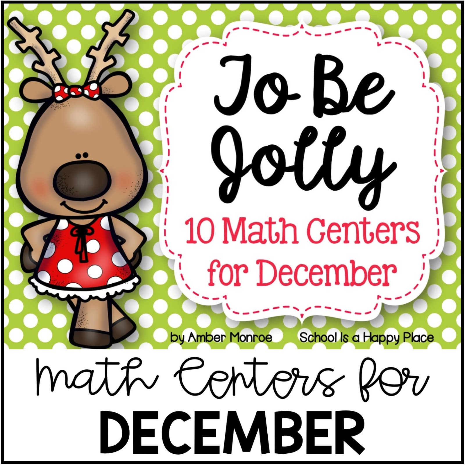 Math Centers for December