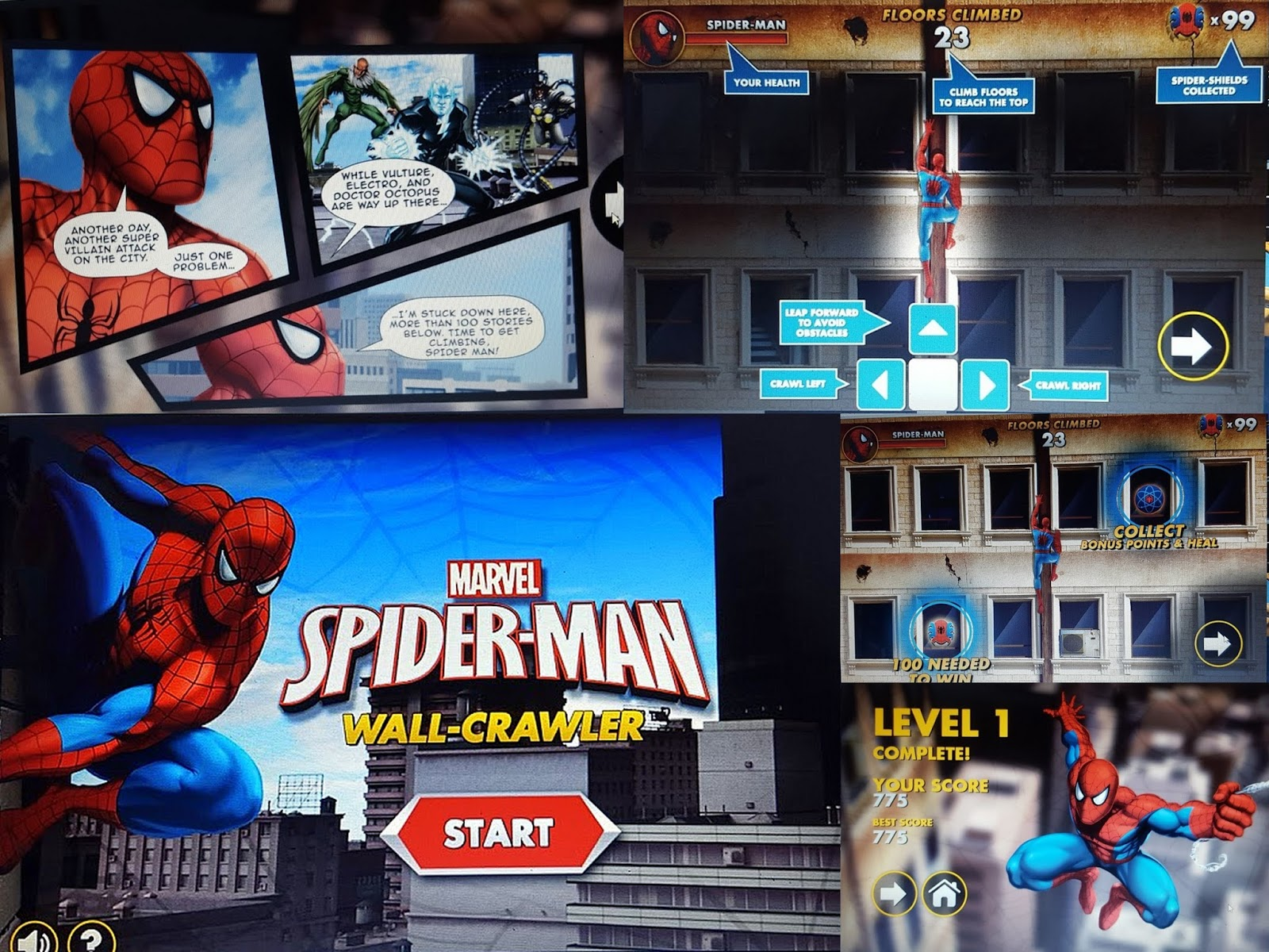 Most Play Spiderman Games