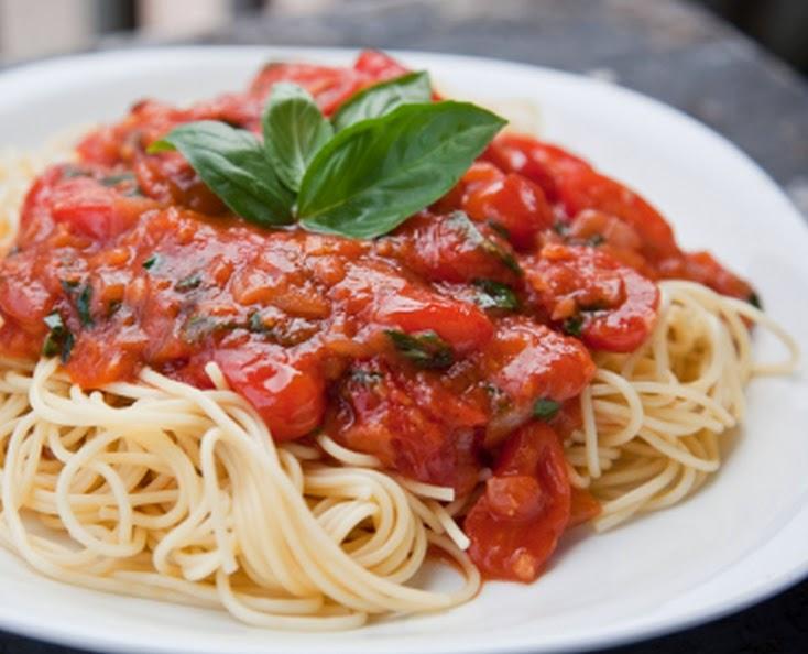 Espaguete à Marinara (vegana)