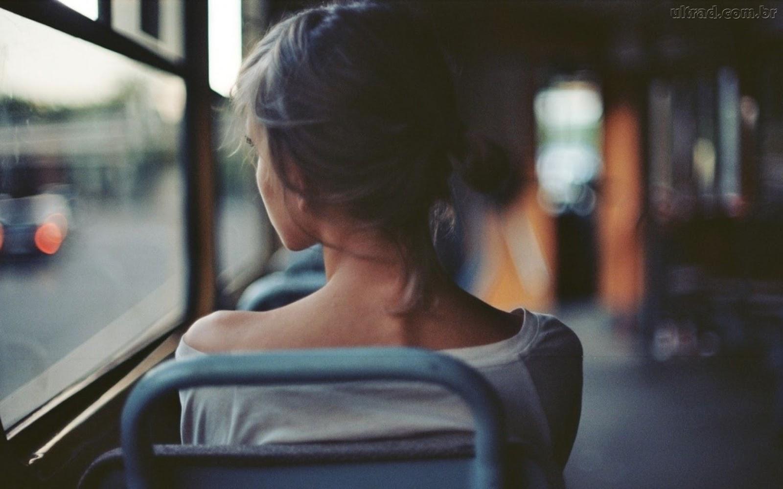Eu geralmente penso nesses textos quando estou no ônibus, haha!