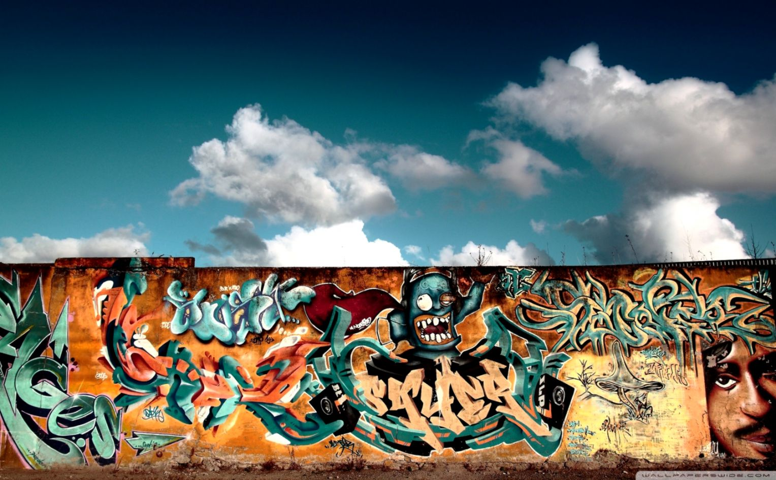 View Original Size Cool Art Wallpaper Graffiti Wall All