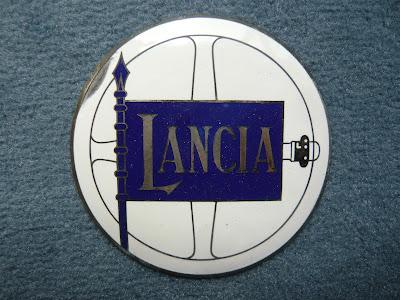Lancia Radiator Emblem