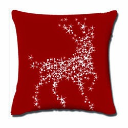 Christmas Popular Throw Pillow