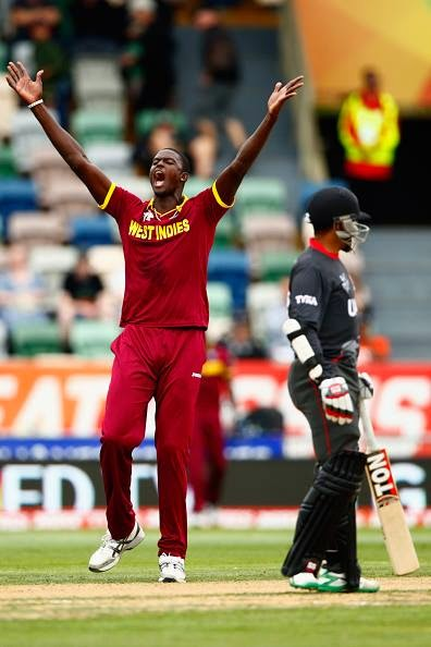 West Indies win over UAE BY 6 WICKETS