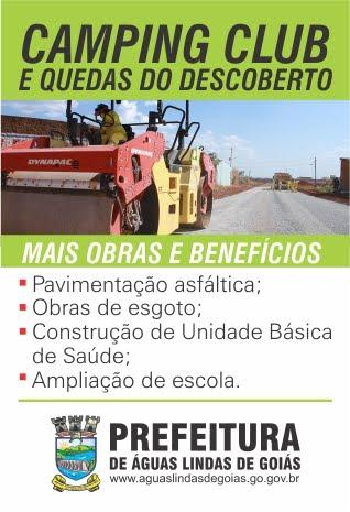 CAMPING CLUB E QUEDAS DO DESCOBERTO
