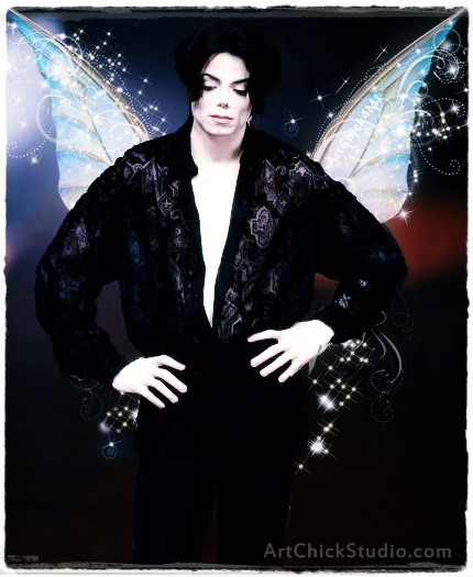 MJ Fairy Michael Jackson Art