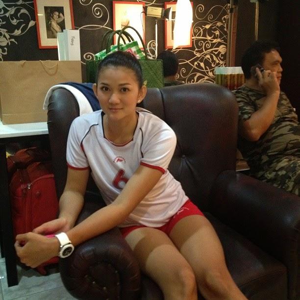 Maya Kurnia Indri Atlet Voli Cantik Indonesia 72bidadari.blogspot.com