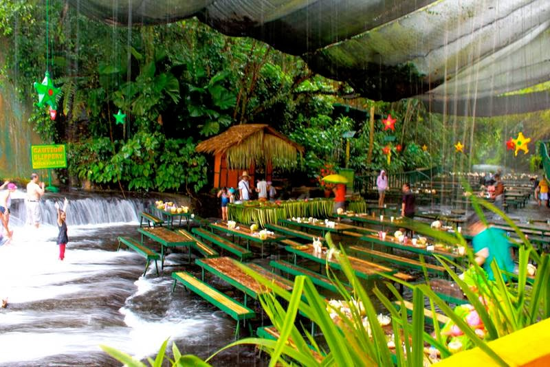 Waterfall Restaurant Villa Escudero Philippines