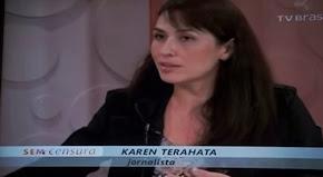 Assista: Leda Nagle entrevista Karen Terahata no programa Sem Censura