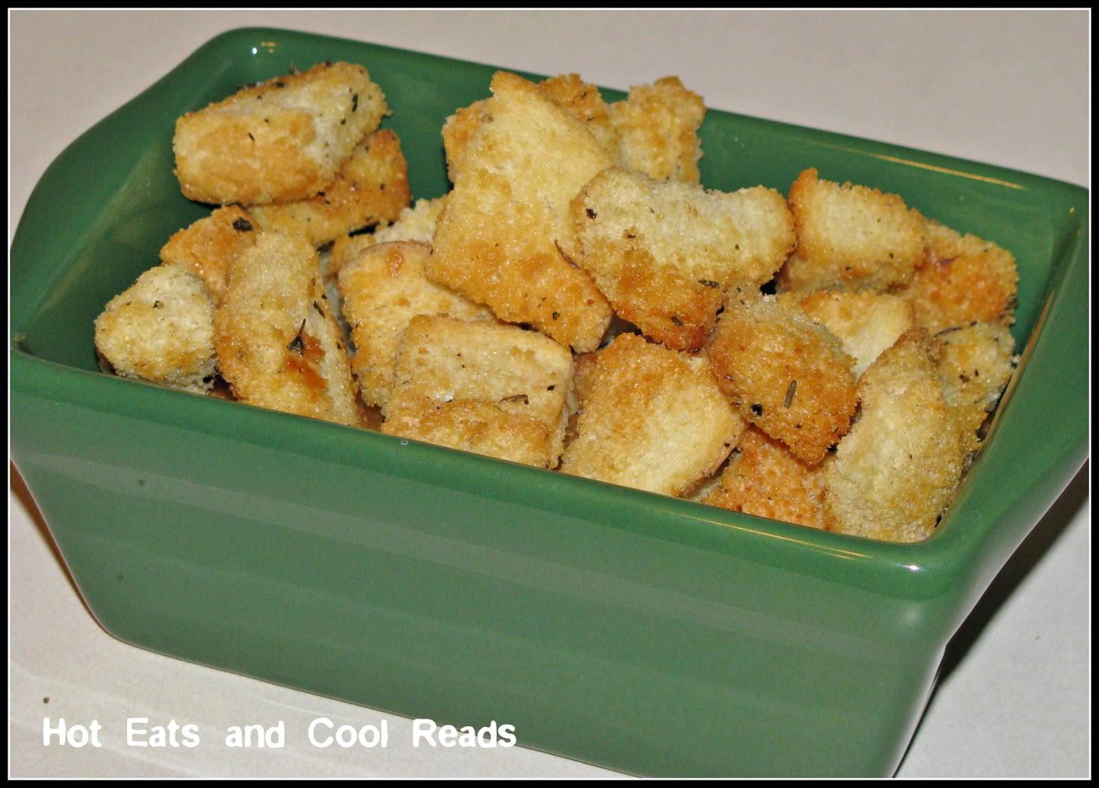 Homemade Sourdough Garlic Butter Croutons Recipe — Dishmaps
