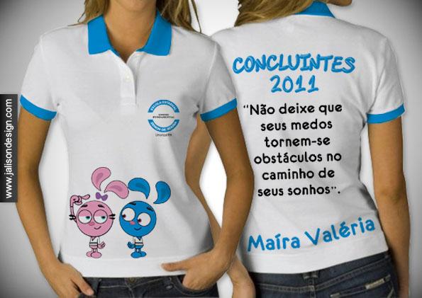 Camisa   Escola Estadual Zenon De Sousa   Concluintes 2011