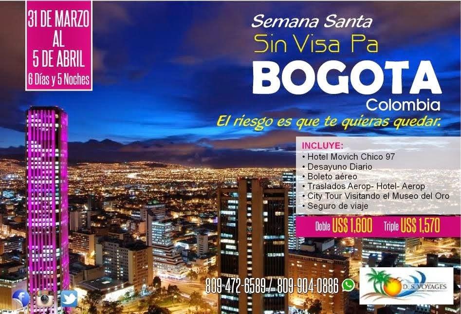 Semana Santa Bogota Colombia