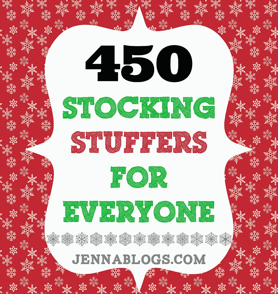 Stocking Stuffer Ideas jenna blogs: 450 stocking stuffer ideas!