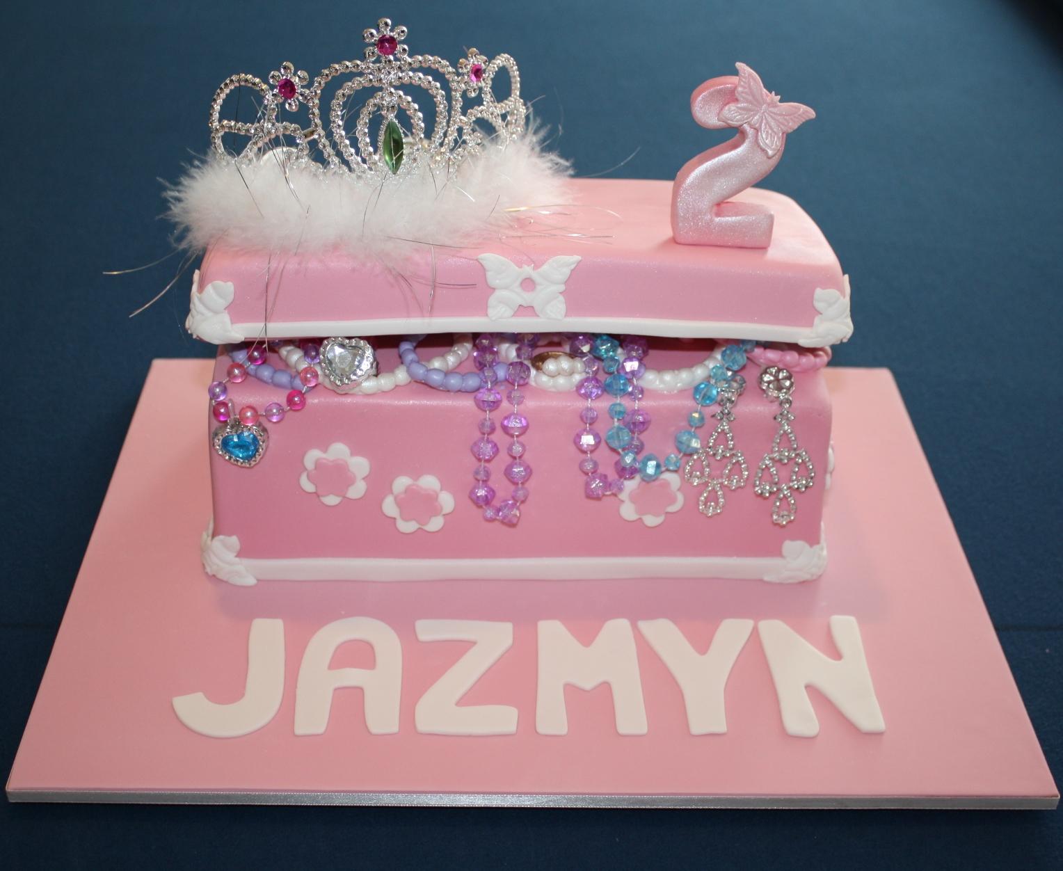 Sandys Cakes Jazmyns Jewellery Box