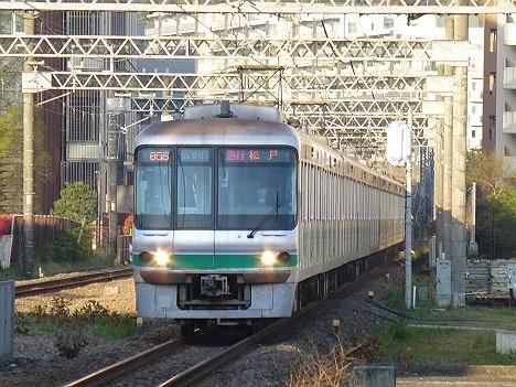 小田急線 千代田線直通 急行 松戸行き 06系