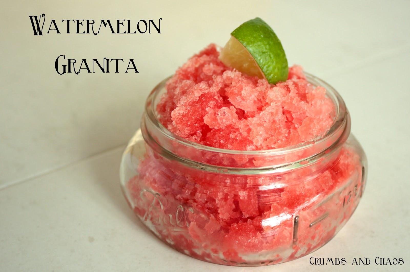 Watermelon Granita Recipes — Dishmaps