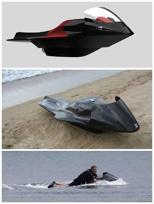 The EXO Watercraft Dazzles with a Free-Flowing Aerodynamic Design