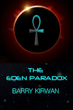 SciFy novel by Paris-based author, Barry Kirwan: THE EDEN PARADOX