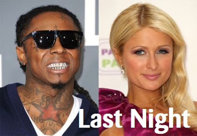 PARIS HILTON - LAST NIGHT LYRICS